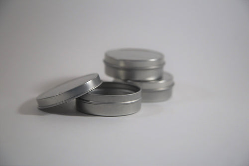 2 oz Shallow Round Tin