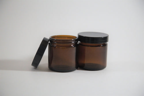 100ml Amber Glass Jar