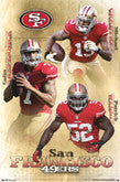 49ers Player Posters - Current And Recent