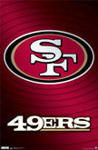 49ers Team Logo And Theme Art Items