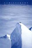 Winter Mountain Climbing Posters