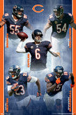 Bears Player Posters - Current And Recent