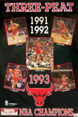 Chicago Bulls Championship Posters