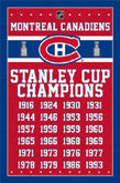 Montreal Canadiens Logo Theme Art And Arena Items