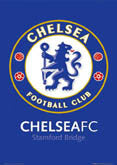 Chelsea Crest And Stadium Posters