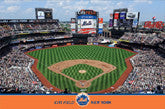 New York Mets Stadium Posters