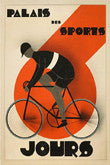 Vintage Cycling Art Poster Reprints