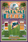 1973 Super Bowl VII Dolphins Redskins