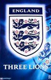 England Soccer Posters