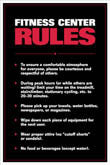 Gym Rules Posters