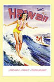 Vintage Surfing Art Poster Reprints