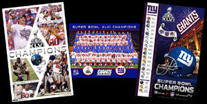 Giants Super Bowl XLVI (2012) Posters