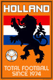 Netherlands Soccer Posters