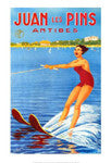 Vintage Watersports Art Poster Reprints