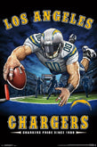 Los Angeles Chargers Posters (San Diego Chargers)