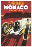 Vintage Motorsport Poster Reprints