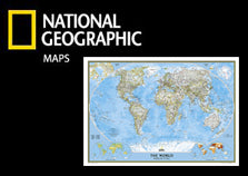 National Geographic Wall Maps Poster Collection