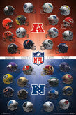 NFL Football Team Logo Posters