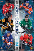 NHL Superstar Collage Posters