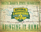 North Dakota State Bison Posters