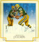 Damac Nfl Theme Art Posters (1979-83)