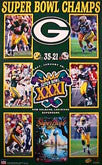 1997 Super Bowl XXXI Packers Patriots