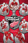 Red Wings Stanley Cup Posters