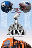 2012 Super Bowl XLVI Giants vs Patriots