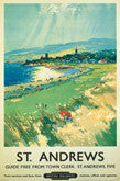 Vintage Golf Art Poster Reprints