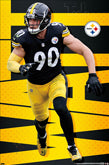 Steelers Player Posters - Current And Recent