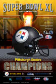 2006 Super Bowl XL Steelers Seahawks