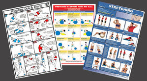 Stretching Fitness Posters