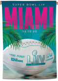 2020 Super Bowl LIV (Miami) Posters Pennants Banners Flags