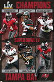 2021 Super Bowl LV (Tampa) Posters Pennants Banners Flags