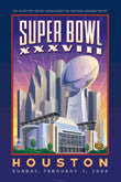 2004 Super Bowl XXXVIII Patriots Panthers