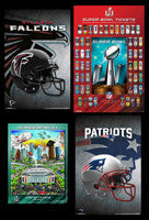 2017 Super Bowl Li (houston) Patriots Falcons