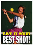 Motivational Tennis Posters