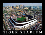 Detroit Tigers Stadium Posters