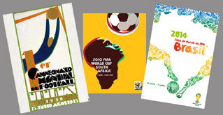 FIFA World Cup Soccer Posters