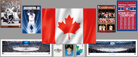 Canada Posters Collage