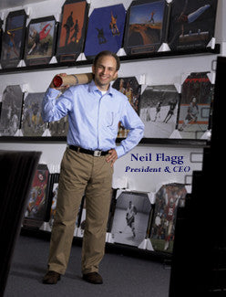 Neil Flagg, President, Sports Poster Warehouse
