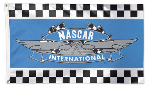 Classic NASCAR International (1964-1975) Racing Logo Emblem Huge 3' x 5' DELUXE Banner Flag - Wincraft Inc.