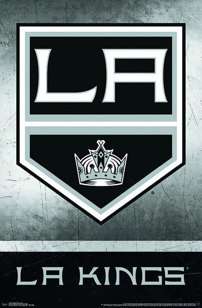 Los Angeles Kings NHL Hockey Official Team Logo Poster - Trends International