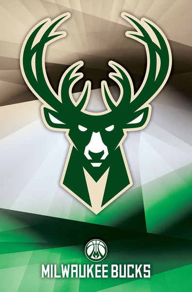 Milwaukee Bucks Official NBA Basketball Team Logo Poster - Trends International 2017