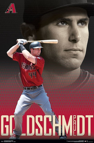 "Paul Goldschmidt ""Superstar"" Arizona Diamondbacks MLB Action Wall Poster - Trends International"