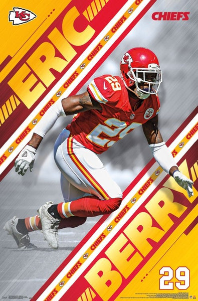 "Eric Berry ""Prowler"" Kansas City Chiefs Official NFL Football Wall Poster - Trends International"