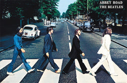 The Beatles Abbey Road (1969) Album Cover Poster - Trends International