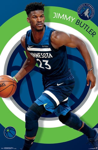 Jimmy Butler Wolf Minnesota Timberwolves Official Nba Basketball Poster Trends International