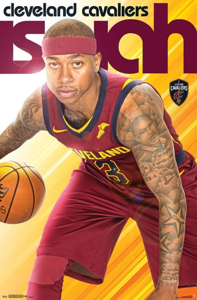 "Isaiah Thomas ""Arrival"" Cleveland Cavaliers Official NBA Poster - Trends International"