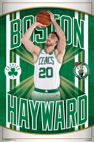 "Gordon Hayward ""Arrival"" Boston Celtics NBA Basketball Wall Poster - Trends 2017"